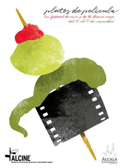 Alcalá Gastronómica te sirve platos de película para celebrar la 47ª edición del Festival Alcine