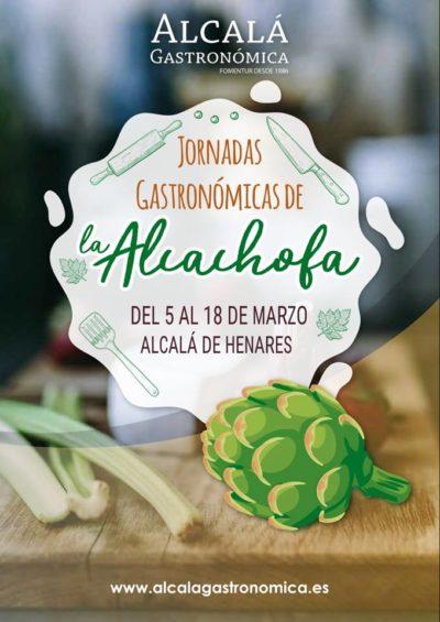 Mil formas de comer las alcachofas en Alcalá de Henares. Del 5 al 18 de marzo