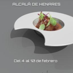 Cartel Semana Gastronómica de Alcalá de Henares