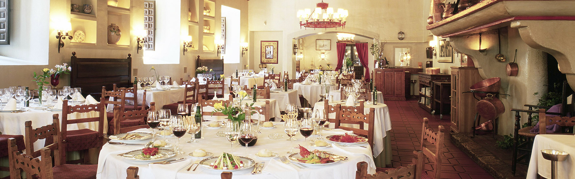 Restaurante Hosteria Parador Nacional Alcalá de Henares