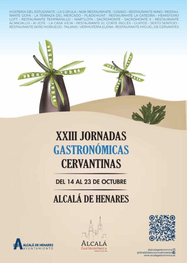 XXIII Jornadas Gastronómicas Cervantinas