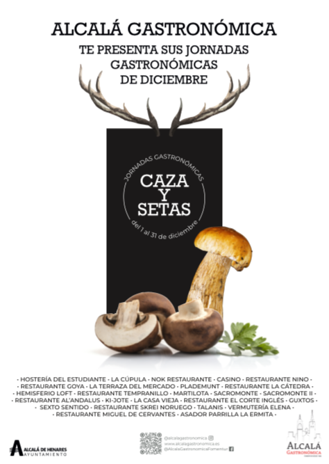 Diciembre de Caza y Setas