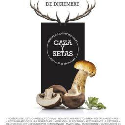 Caza y setas Alcalá Gastronómica