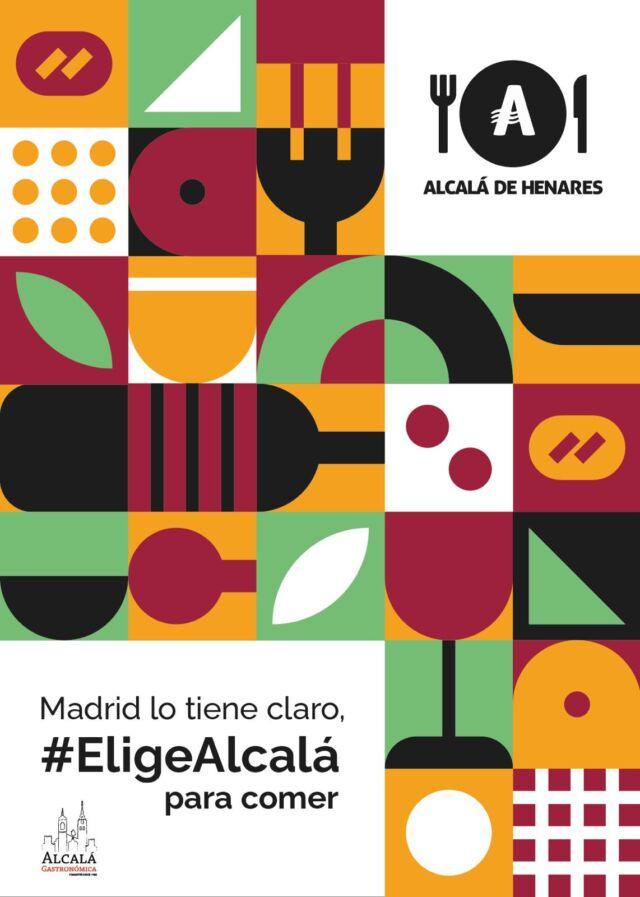cartel elige Alcalá para comer
