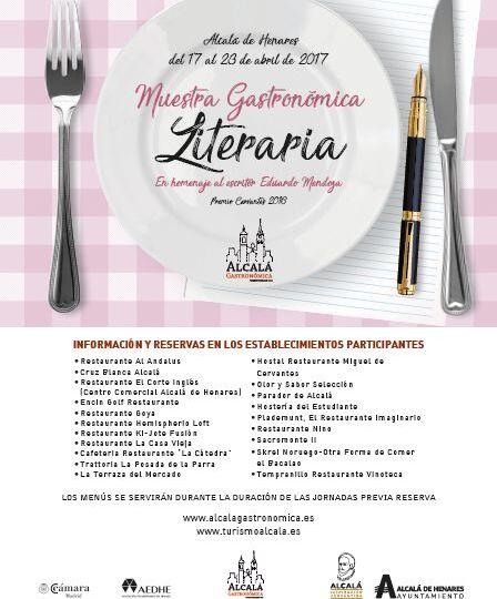 Ven y disfruta con los menús de Alcalá Gastronómica