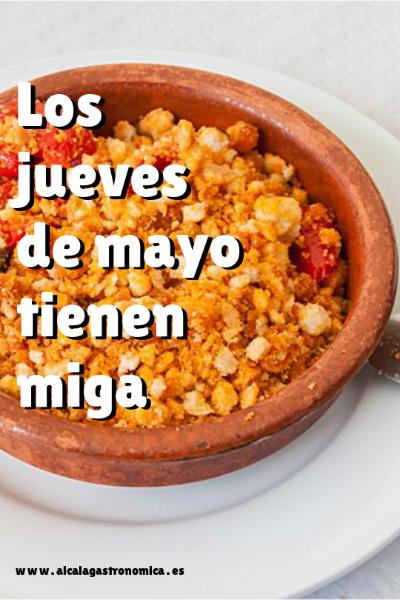 Los jueves de mayo tienen miga en Alcalá de Henares