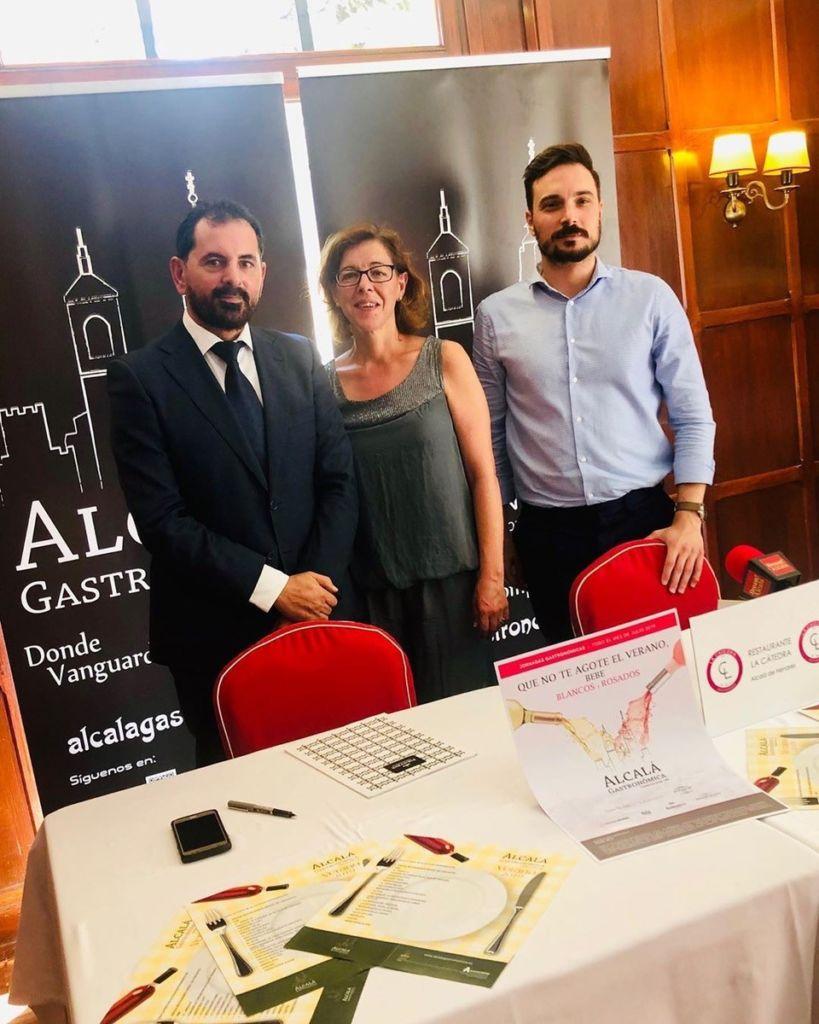 presentación de la programación de verano de la asociación Alcalá Gastronómica