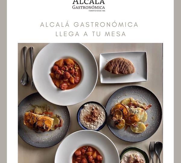 Alcalá Gastronómica entrega a domicilio