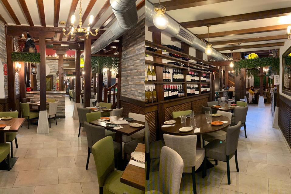 restaurante nubium Alcalá de Henares