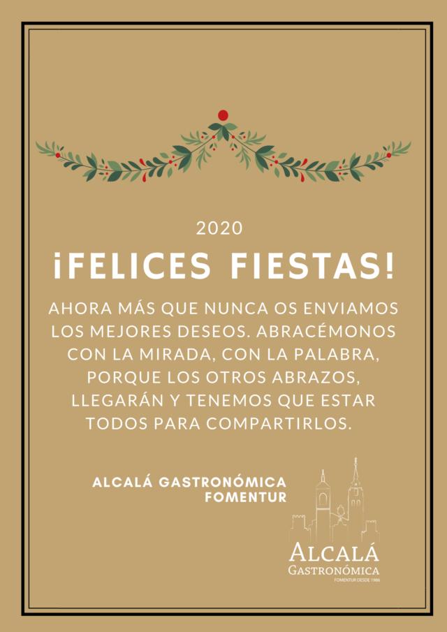 Felicitación Navidad Alcalá Gastronómica