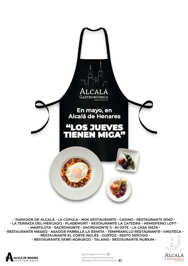 Los jueves tienen miga en Alcalá de Henares