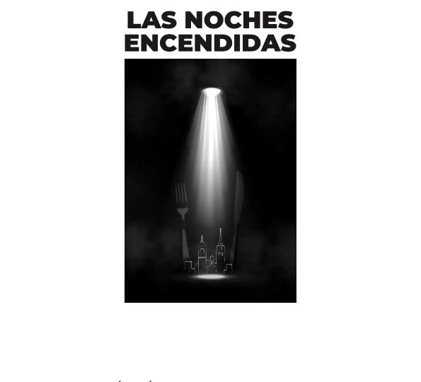 Cartel de 'Las noches encendidas' en Alcalá de Henares